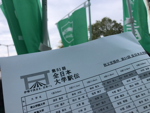 【University relay road race】